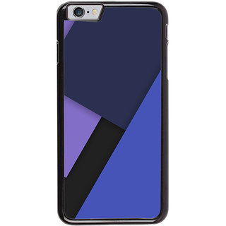 Ayaashii Blue Color Pattern Back Case Cover for Apple iPhone 6