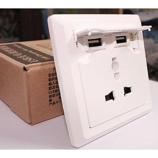 KRISH Face Plate USB With Plug - KRISHSPY65