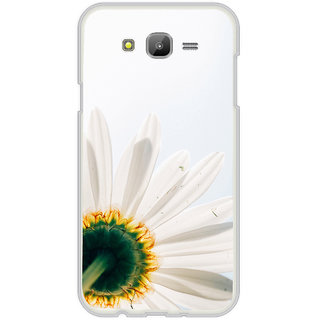 ifasho Flower Design white flower in white background Back Case Cover for Samsung Galaxy On 7