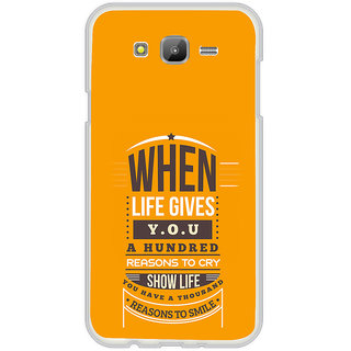 ifasho quotes on success Back Case Cover for Samsung Galaxy On 7