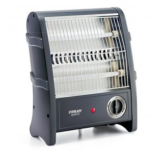 Eveready QH800W Quartz Heater Black