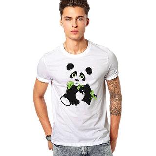 Panda Cartoon Animal FanArt Premium Quality Male Casual T-shirts