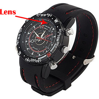 M MHB Wrist watch Hidden audio/video Recording. While recording no light Flashes. Sports Wrist Watch Camera Inbuild 4gb Memory .Original brand Only Sold by M MHB