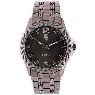 Tichino Round Dial Black Analog Watch For Women-Gi7574Wblackblack
