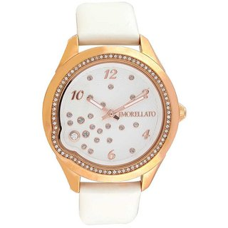 Morellato Round Dial White Analog Watch For Women-R0151111502