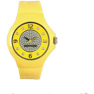 Morellato Round Dial Yellow Analog Watch For Women-R0151114505
