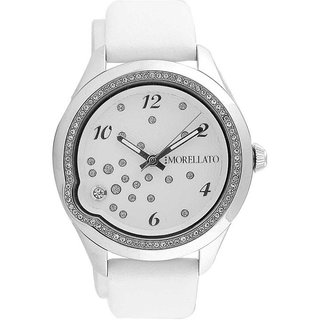 Morellato Round Dial White Analog Watch For Women-R0151111501
