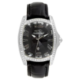 Chronotech Square  Dial Black Analog Watch For Unisex-Ct7988Ls02