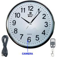 M MHB HD Quality Wall Clock Hidden Spy Camera Wireless Security Camera  Surveillance Cameras Video Motion Detection Recorder .original Brand Sold By M MHB