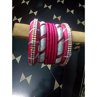 new trendy thread bangles