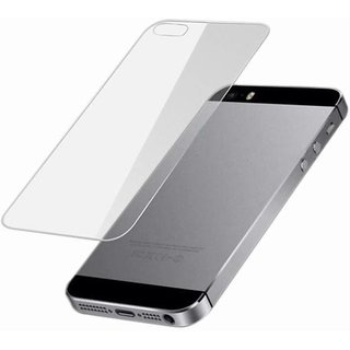 Apple iPhone 5 Back Side Tempered Glass Screen Guard by Moscos
