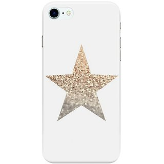 The Fappy Store GOLD-STAR Back Cover for Apple iPhone 7