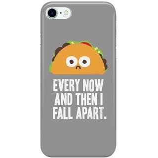 Dreambolic Taco-Eclipse-of-the-Heart Back Cover for Apple iPhone 7