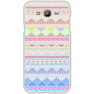 ifasho multi color Triangular Pattern Back Case Cover for Samsung Galaxy On 7Pro