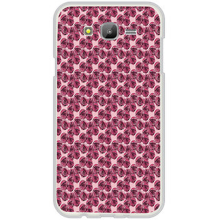 ifasho Animated Pattern small purple rose flower Back Case Cover for Samsung Galaxy On 7Pro