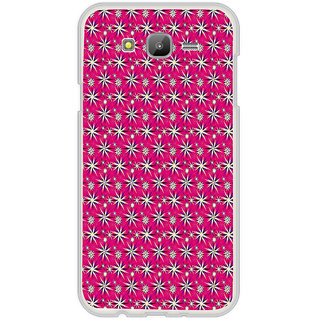 ifasho Pattern green white and red animated flower design Back Case Cover for Samsung Galaxy On 7Pro