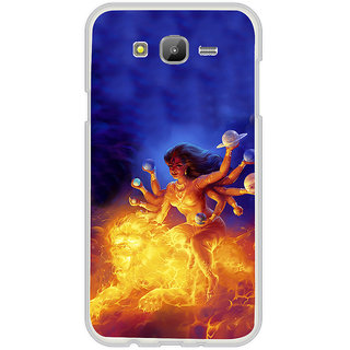 ifasho Godess Durga Back Case Cover for Samsung Galaxy On 7Pro