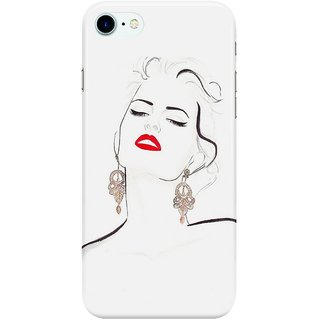 Dreambolic Electric-Geisha Back Cover for Apple iPhone 7