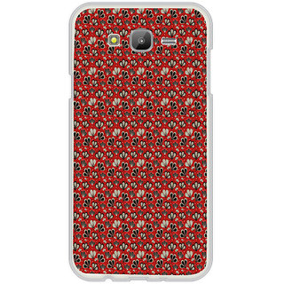ifasho Modern Art Design animated cloth Pattern of flower Back Case Cover for Samsung Galaxy On 7Pro