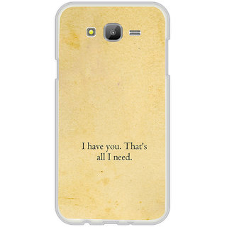 ifasho I have you thats all I need Back Case Cover for Samsung Galaxy On 7Pro