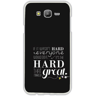 ifasho quotes on success Back Case Cover for Samsung Galaxy On 7Pro