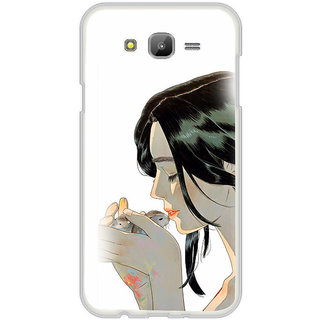 ifasho Girl kissing squirrel Back Case Cover for Samsung Galaxy On 7Pro