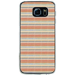 ifasho Animated Pattern colrful traditional design Back Case Cover for Samsung Galaxy S6 Edge