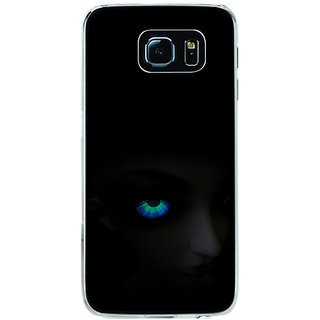 ifasho Girl with shining eyes Back Case Cover for Samsung Galaxy S6 Edge