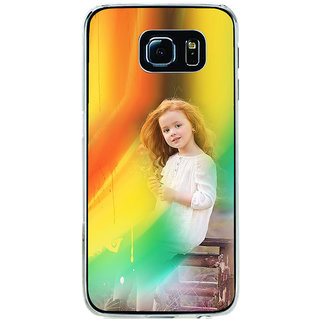 ifasho Girl playing Back Case Cover for Samsung Galaxy S6