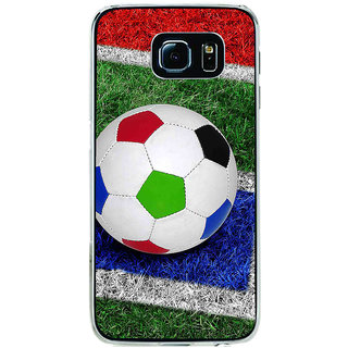 ifasho Foot ball Back Case Cover for Samsung Galaxy S6 Edge