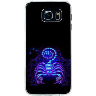 ifasho zodiac sign scorpio Back Case Cover for Samsung Galaxy S6 Edge