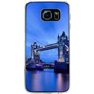 ifasho London Bridge Back Case Cover for Samsung Galaxy S6