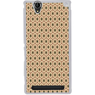 ifasho Animated Pattern colrful tribal design Back Case Cover for Sony Xperia T2