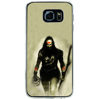 ifasho Siva in smasan Back Case Cover for Samsung Galaxy S6