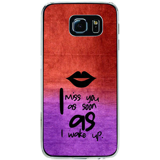 ifasho Love in Heart Back Case Cover for Samsung Galaxy S6