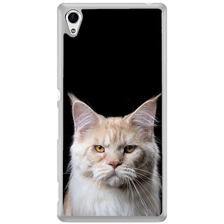 ifasho Innocent Cat with brown Eyes Back Case Cover for Sony Xperia Z3 Plus