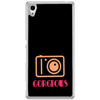 ifasho Being Yourself gorgeous Back Case Cover for Sony Xperia Z3 Plus
