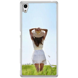 ifasho Girl waiting Back Case Cover for Sony Xperia Z3 Plus