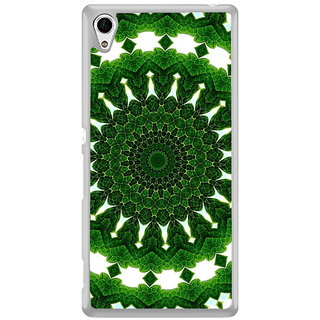ifasho Animated Pattern design colorful flower in royal style Back Case Cover for Sony Xperia Z3 Plus