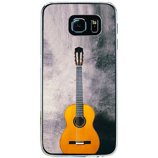 ifasho Modern Art Design Pattern Music Instrument Back Case Cover for Samsung Galaxy S6 Edge