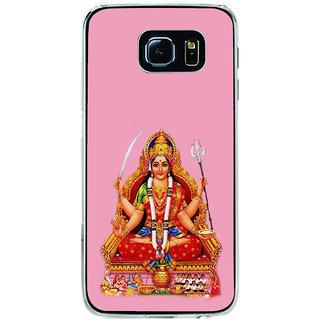 ifasho Santoshi maa Back Case Cover for Samsung Galaxy S6 Edge