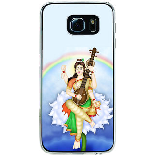 ifasho Goddess Saraswati  Back Case Cover for Samsung Galaxy S6 Edge