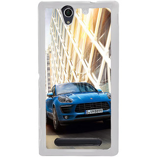 ifasho Car In Mexico City Back Case Cover for Sony Xperia C4
