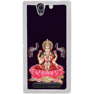 ifasho Lord Laxmi Back Case Cover for Sony Xperia C4