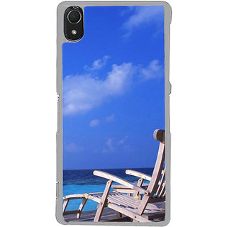 ifasho Beach  Back Case Cover for Sony Xperia Z3