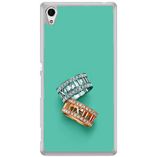 ifasho Engagement Ring Back Case Cover for Sony Xperia Z3 Plus
