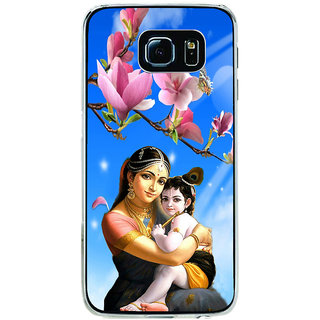 ifasho Yasoda krishna Back Case Cover for Samsung Galaxy S6