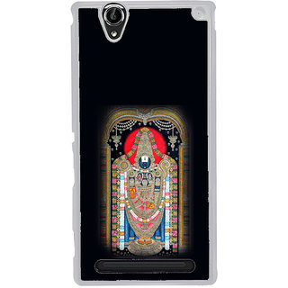 ifasho Tirupati Balaji Back Case Cover for Sony Xperia T2