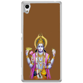 ifasho Lord Vishnu Back Case Cover for Sony Xperia Z3 Plus