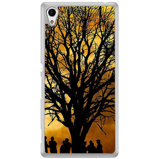 ifasho Tree Painting with people  Back Case Cover for Sony Xperia Z3 Plus